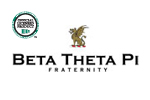 Beta Theta Pi Screen Printed Tonal Stripe Crew | Beta Theta Pi Fraternity