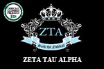 Zeta Tau Alpha Fine Cotton Jersey T-shirt | Zeta Tau Alpha Sorority