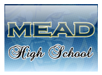 Mead Panthers Fleece Scarf - Embroidered | Mead High School