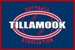 Tillamook Softball 100% Cotton T-Shirt | Tillamook Softball Association