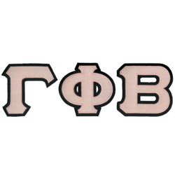 Gamma Phi Beta Greek Letter T Shirt