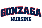 Gonzaga University Nursing Junior Ladies Slub V-Neck Hoodie - Embroidered | Gonzaga University Nursing