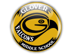 Glover Middle School Screen-Printed Hooded Sweatshirt | Glover Middle School