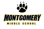 Montgomery Middle School Pullover Hooded Sweatshirt - Screenprint | Montgomery Middle School