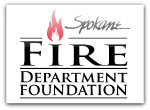Spokane Fire Department Foundation Screen Printed Long Sleeve T-Shirt | Spokane Fire Department Foundation