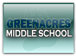 Greenacres Middle School Screen Printed Long Sleeve T-Shirt | Greenacres Middle School
