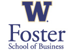 UW School of Business Embroidered Full-Zip Hooded Sweatshirt | UW Foster School of Business