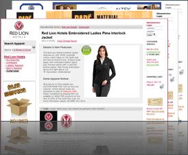 Free Online Merchandise E-Stores   Custom Apparel Stores
