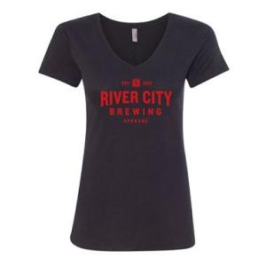 River City Brewing Ladies V-Neck