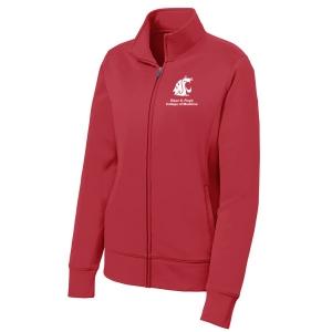 Sport-Tek Ladies Sport-Wick Fleece Full-Zip Jacket