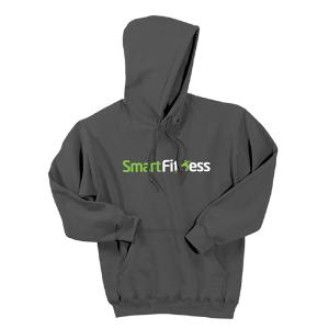 Smart Fitness Unisex Pullover Hooded Sweatshirt