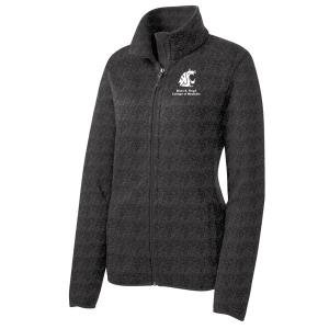Port Authority Ladies Sweater Fleece Jacket