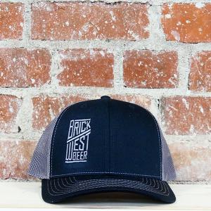Brick West's Mesh Snap Back Hat