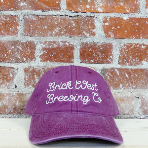 Brick West's Pigment Dyed Hat