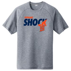 Spokane Shock Tri-Blend Wicking Raglan T-Shirt