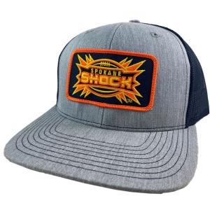 Spokane Shock Patch Richardson Mesh Snap Back Hat 112