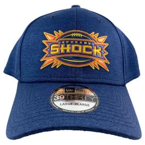 Spokane Shock New Era Shadow Stretch Heather Cap