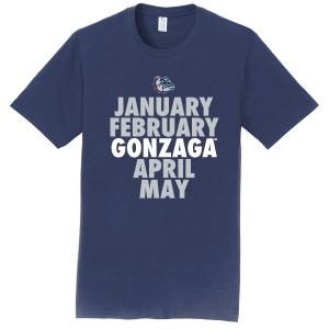 Gonzaga Spring Calendar T-Shirt