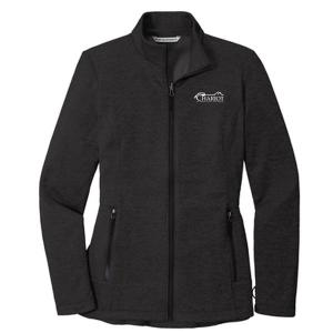 Port Authority Ladies Collective Striated Fleece Jacket. L905