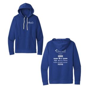 Next Level Unisex 80/20 Fleece Pullover Hoodie. NL9303