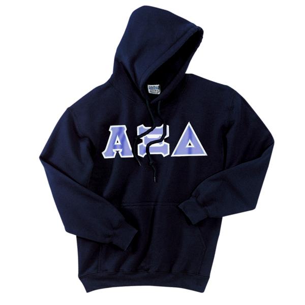 ... Twilled Greek Letter Hooded Sweatshirt | Alpha Xi Delta Sorority