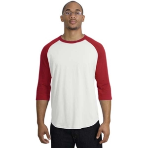 913d5aa73e70 Lifeguard Apparel Screen-Printed Colorblock Raglan Baseball Jersey ...
