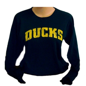 3b6d8090008bfb University of Oregon - Vintage Ducks Long-Sleeved Shirt ...
