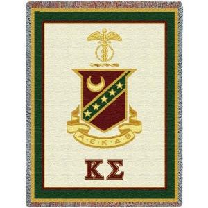 Kappa Sigma Tapestry Throw Afghan Throws