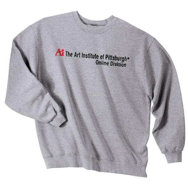 Art Institute Of Pittsburgh Online >> Art Institute Crewneck Sweatshirt Art Institute Of
