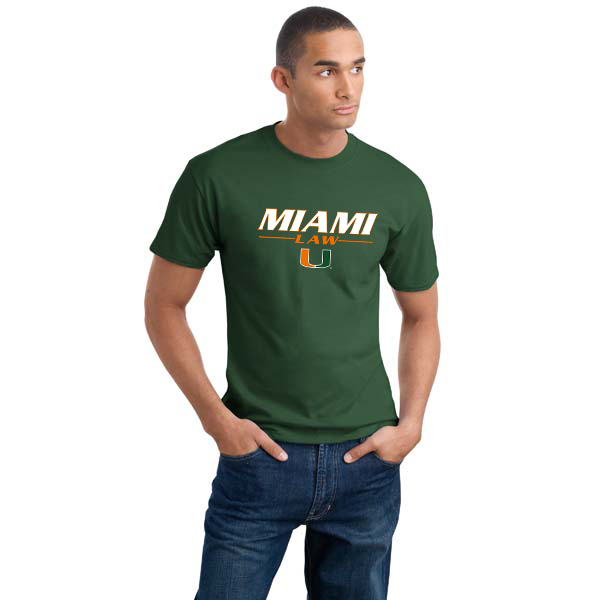 Miami law 100 cotton t shirt screen printed for Miami t shirt printing