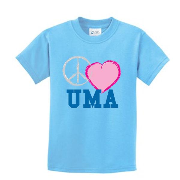 Uma Port Company Youth 100 Cotton T Shirt Uma